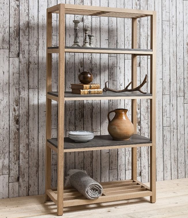 Hudson Living Brooklyn Display Cabinet - Tall Open