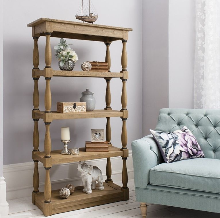 Hudson Living Cotswold Open Display Cabinet
