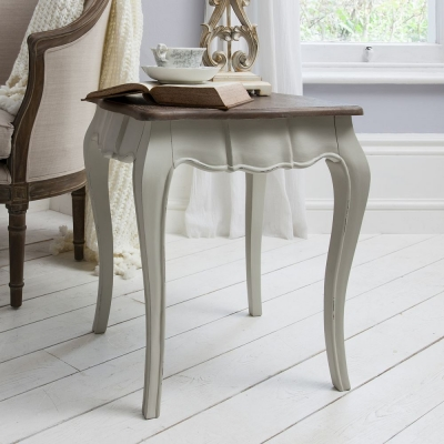 Hudson Living Maison Cool Grey Side Table