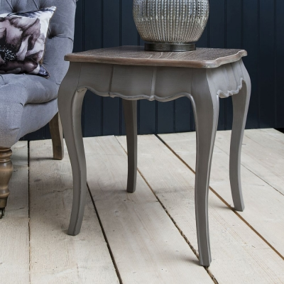 Hudson Living Maison Dark Grey Side Table