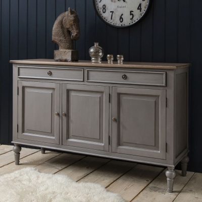 Hudson Living Maison Dark Grey Sideboard