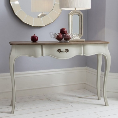 Hudson Living Maison Cool Grey Console Table