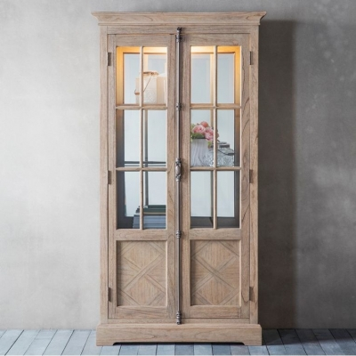 Hudson Living Mustique Display Cabinet