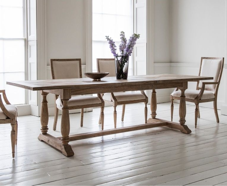 Hudson Living Mustique Dining Set - Extending with 4 Chairs