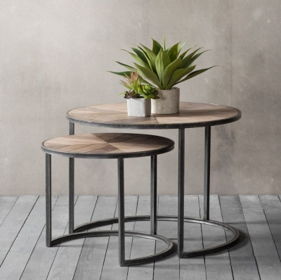 Hudson Douglas Coffee Nest of 2 Tables