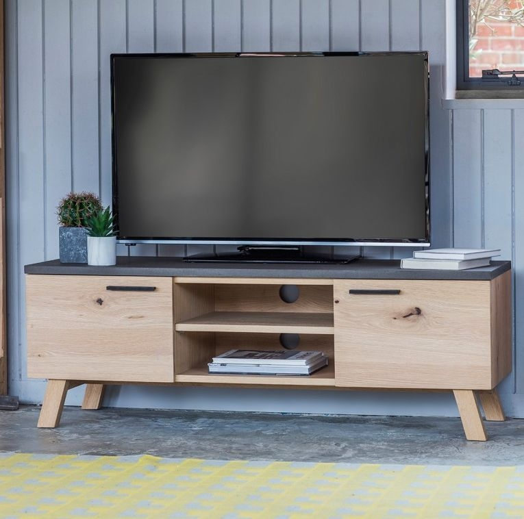 Hudson Chilson TV Unit - 2 Door