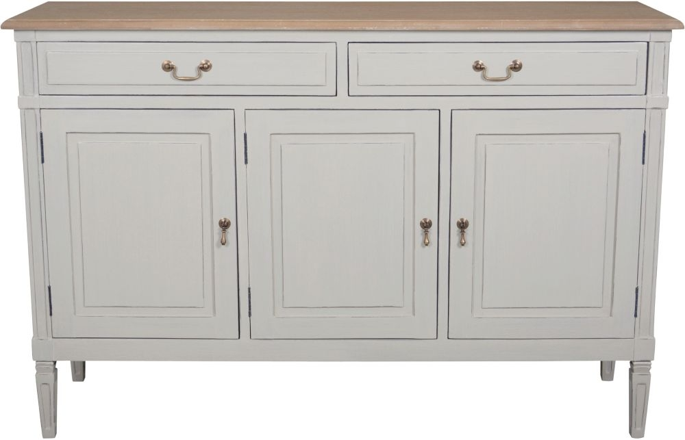 Bonaparte French Oak and Putty Painted Sideboard