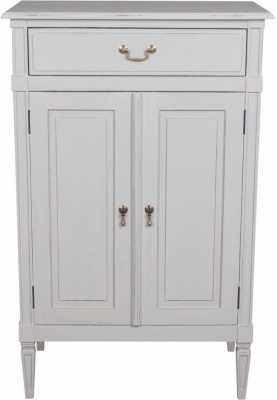 Bonaparte French Putty Painted 2 Door Cupboard