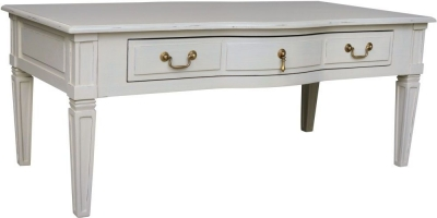 Bonaparte French Putty Painted Coffee Table