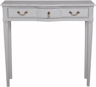 Bonaparte French Putty Painted Console Table