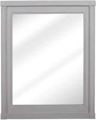 Bonaparte French Putty Painted Rectangular Mirror - 70cm x 90cm
