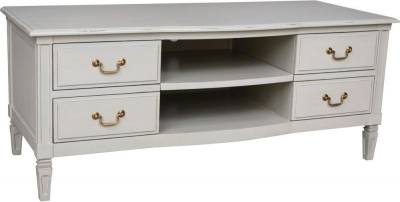 Bonaparte French Putty Painted TV Unit