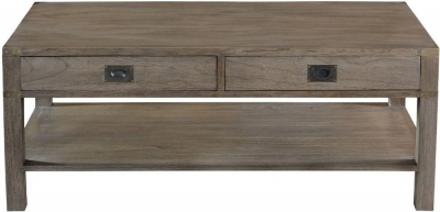 Normandy French Grey Oak Coffee Table