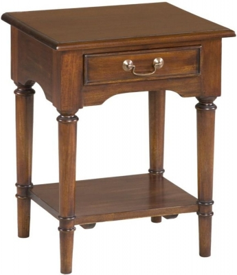 Palais French Mahogany Side Table