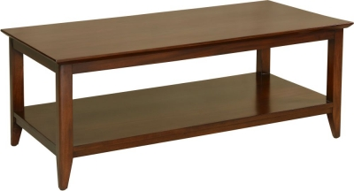 Palais French Mahogany Straight Leg Coffee Table