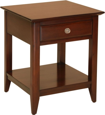 Palais French Mahogany Straight Leg Side Table