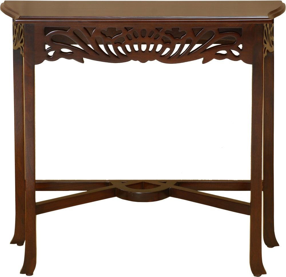 Palais French Mahogany Console Table