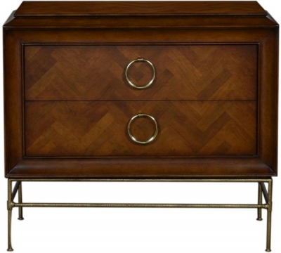 Provencal French Cherry 2 Drawer Chest