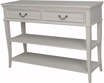 Versailles French Stoney Ground Painted Console Table