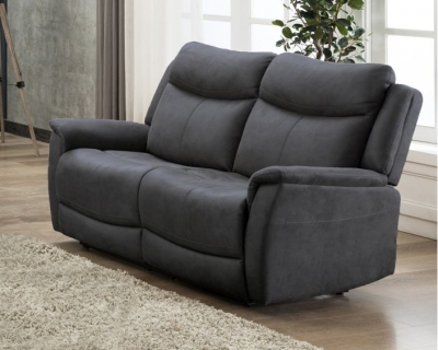 Arizona Slate Fabric 2 Seater Sofa