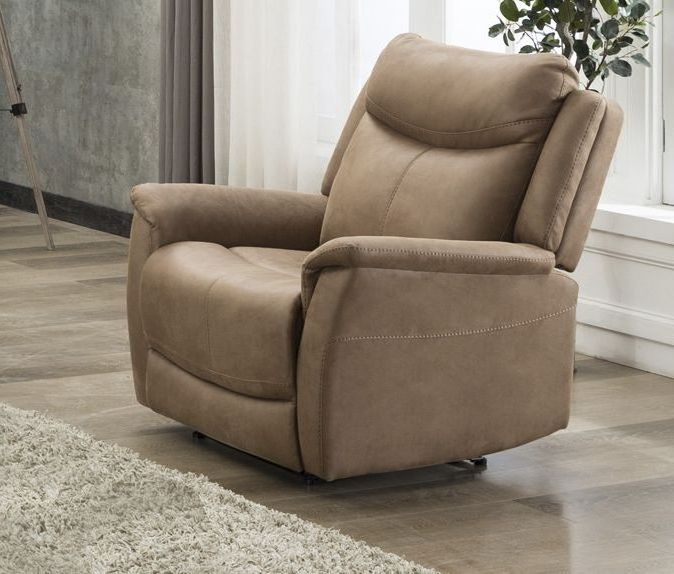 Arizona Caramel Fabric Armchair