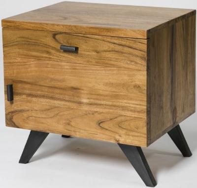 Augusta Acacia Bedside Cabinet