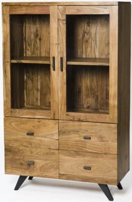 Augusta Acacia Small Display Cabinet