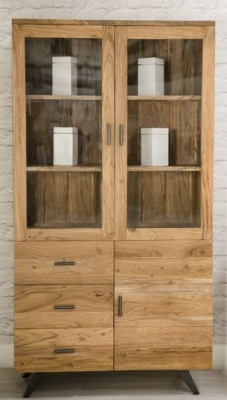 Augusta Acacia Large Display Cabinet