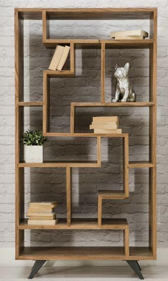 Augusta Acacia Bookcase