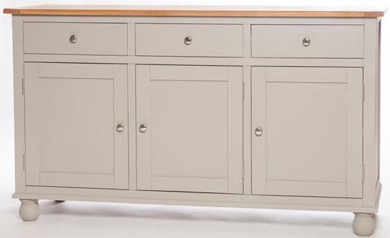 Avoca Painted 3 Door 3 Drawer Wide Sideboard