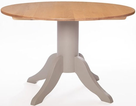 Avoca Painted Round Dining Table - 120cm