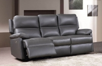 Bailey Leather 3 Seater Sofa