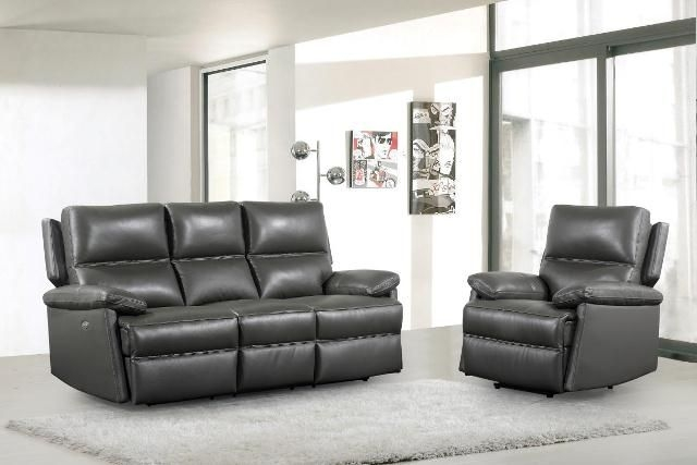Bailey Leather 3+1+1 Seater Sofa Suite