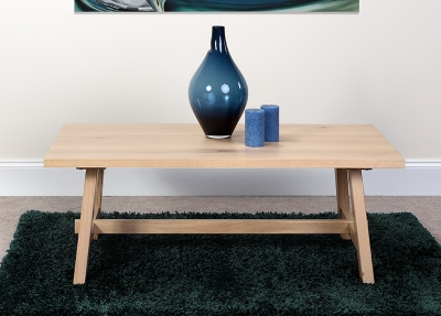 Bergen Oak Coffee Table