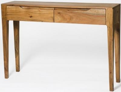 Byron Acacia Wood Console Table