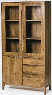 Byron Acacia Wood Large Display Unit