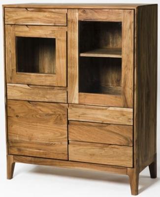 Byron Acacia Wood Small Display Unit
