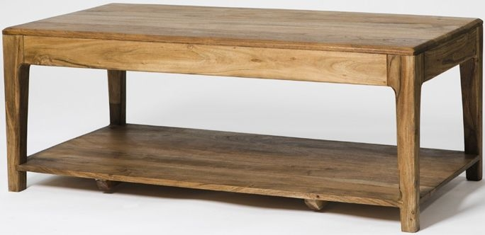 Byron Acacia Wood Coffee Table