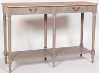 Chateau Painted 2 Drawer Large Console Table