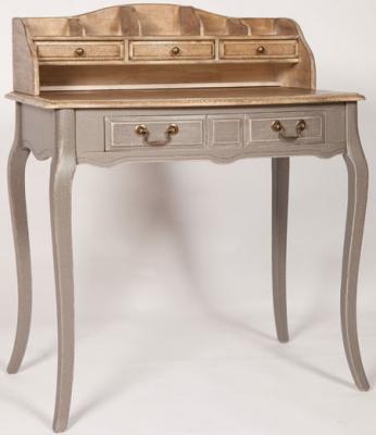 Chateau Painted 5 Drawer Bureau Desk