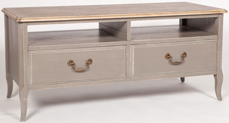 Chateau Painted 2 Drawer TV Unit