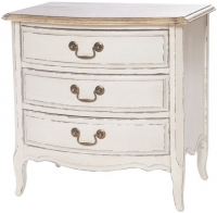 Chateau White 3 Drawer Chest