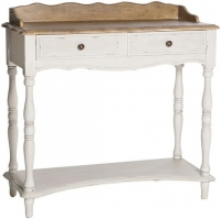 Chateau White 2 Drawer Hall Table
