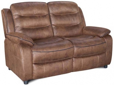Dakota Fabric 2 Seater Sofa