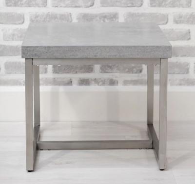 Delta Concrete End Table