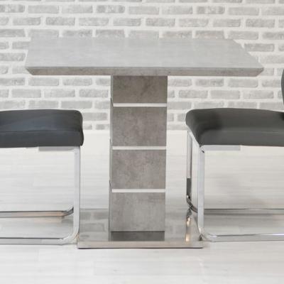 Delta Concrete Square Dining Table