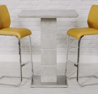Delta Concrete Bar Table