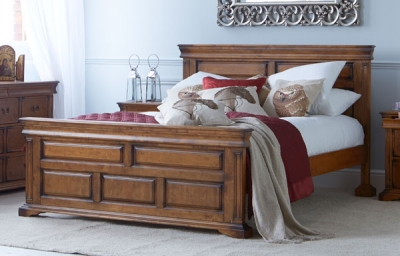 Downton Wooden 5ft King Size Bed