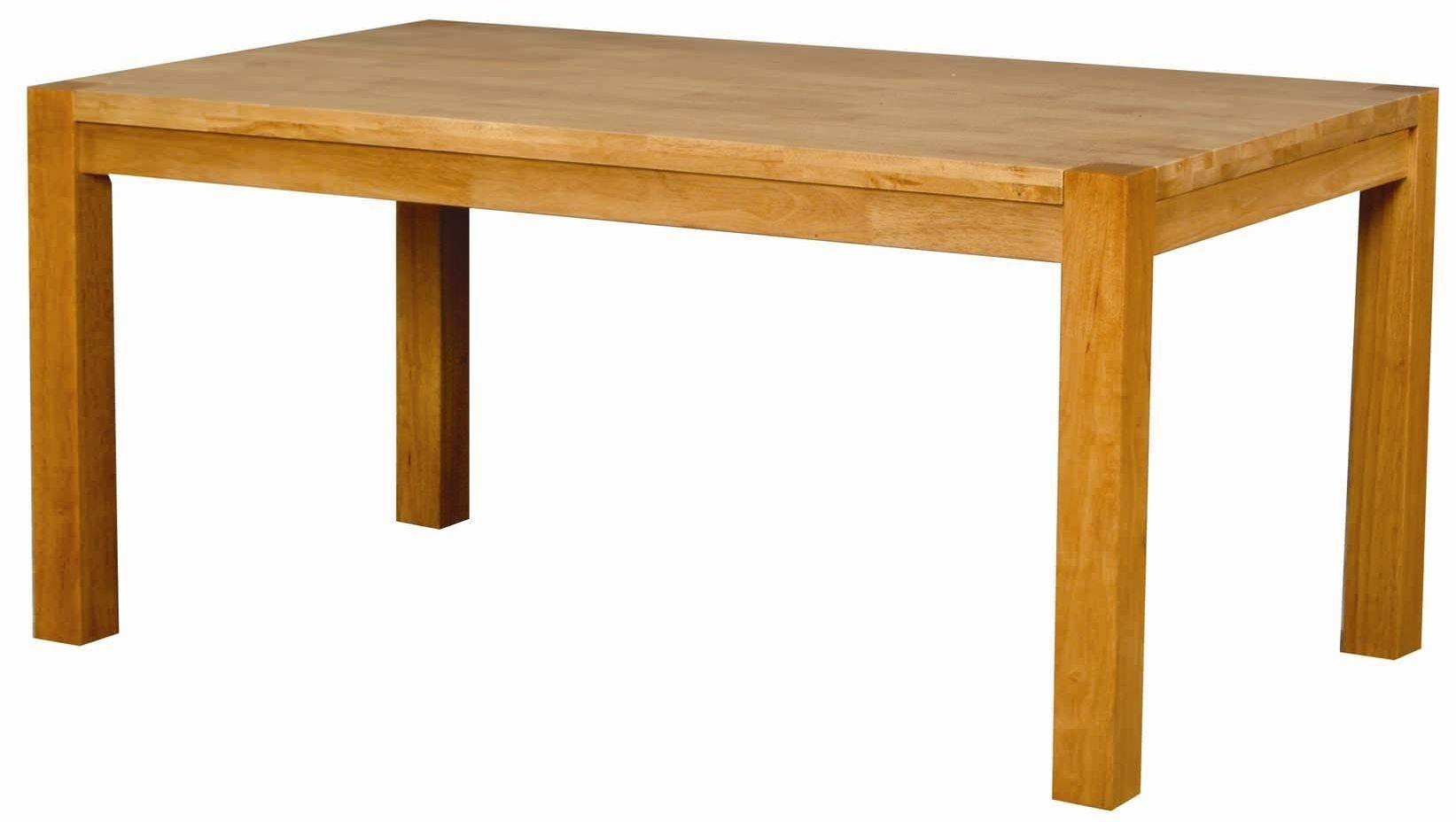 Eve Natural Oak Rectangular Dining Table - 120cm
