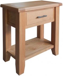 Hampshire Oak Small Console Table